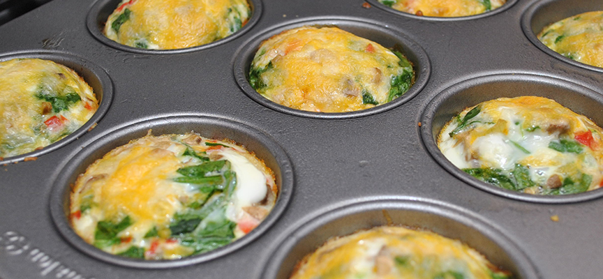 Egg Cup Omelets Recipe